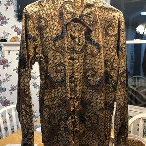 Other - Indonesian Batik shirt